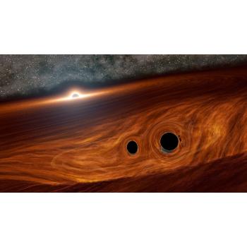Τι θα συνέβαινε εάν δύο μαύρες οπές βρίσκονταν πολύ κοντά η μία στην άλλη;